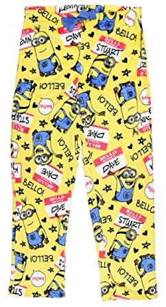 384c9c738ce2 Despicable Me Minions Bello SuFleece Sleep Pants – X-Largeperminky ...